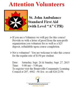FirstAidVolunteers